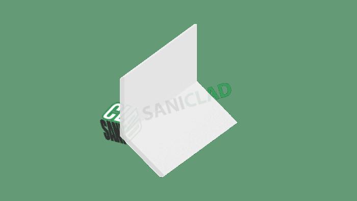 25mm x 25mm Flexible Internal / External PVC Corner